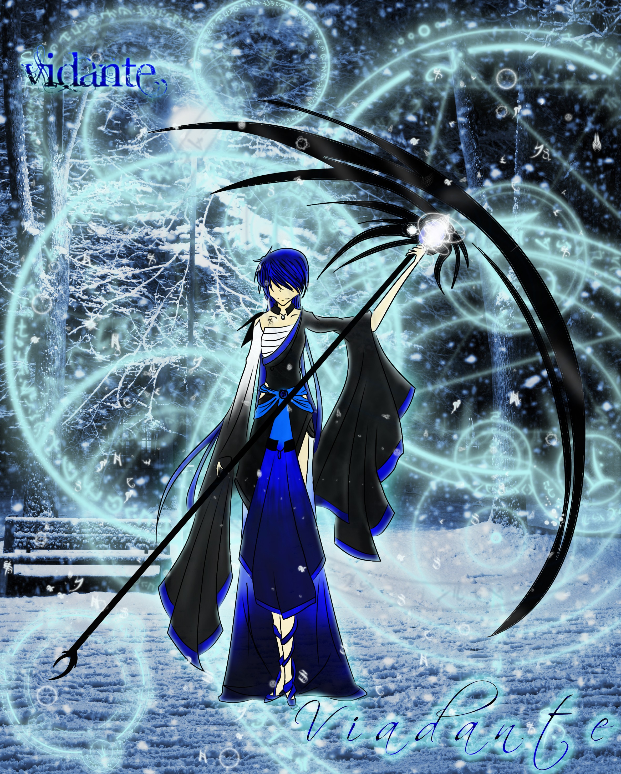 Anime Ice Mage We should draw magesIce Mage Anime